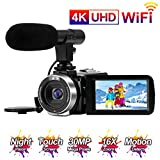 Videocamara Vlogging 4K UHD