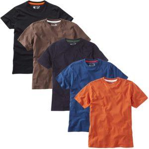 mejores camisetas de cuello redondo